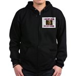NOT JULIA Zip Hoodie (dark)
