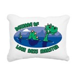 Beware Of Loch Ness Monster Rectangular Canvas Pil