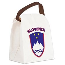 Slovenia Canvas Lunch Bag