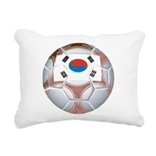 South Korea Soccer Rectangular Canvas Pillow