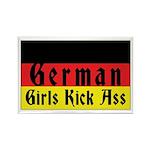 German Girls Kick Ass Rectangle Magnet (100 pack)