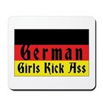 German Girls Kick Ass Mousepad