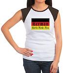 German Girls Kick Ass Women's Cap Sleeve T-Shirt