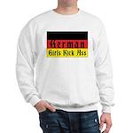 German Girls Kick Ass Sweatshirt
