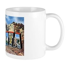 South Dakota Greetings Coffee Mug