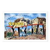 South Dakota Greetings Postcards (Package of 8)