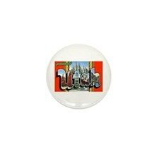 Utah Greetings Mini Button (10 pack)