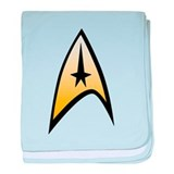 Star Trek baby blanket