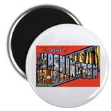 "Washington State Greetings 2.25"" Magnet (10 pack)"