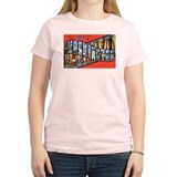 Washington State Greetings Women's Pink T-Shirt
