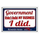Government Didn't Build My Business Banner