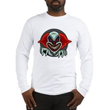 Evil Clown Long Sleeve T-Shirt