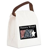 American Freedom Works Canvas Lunch Bag