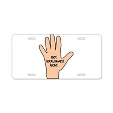 Not Pennys Boat Personalized Aluminum License Plat