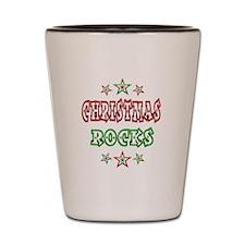 Christmas Rocks Shot Glass