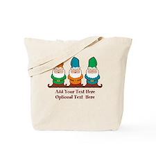 Gnomes Design Tote Bag