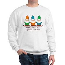 Gnomes Design Sweatshirt