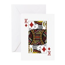 King of Diamonds Greeting Cards (Pk of 20)