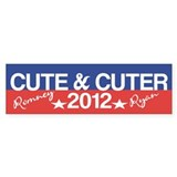 Funny Romney Ryan Cute Cuter Bumper Stickers (50)