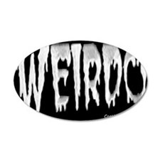 Weirdo Sticker Wall Decal