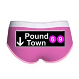 pound town Women's Boy Brief