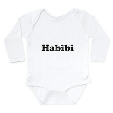 Habibi Long Sleeve Infant Bodysuit