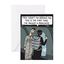 Nowt so daft...Greeting Card