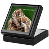 Giraffe Keepsake Boxes