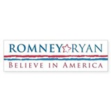 Romney-Ryan Car Sticker