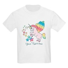 Unicorn Rainbow Star T-Shirt