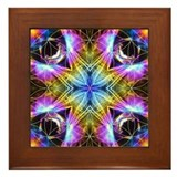 Flower of Life Mandala Framed Tile