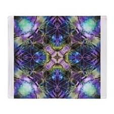 Flower of Life Mandala Throw Blanket