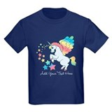 Unicorn Rainbow Star T