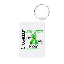 I Wear Lime 43 Lymphoma Keychains