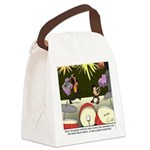 Good Investment Canvas Lunch Bag