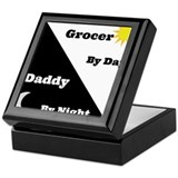 Grocer by day Daddy by night Keepsake Box