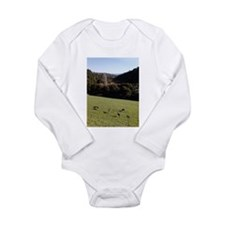Deer in a Valley Long Sleeve Infant Bodysuit