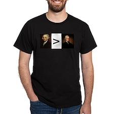 John greater than Tom T-Shirt