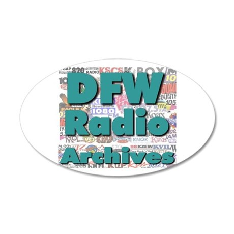 DFW Radio Archives - Square Logo 35x21 Oval Wall D