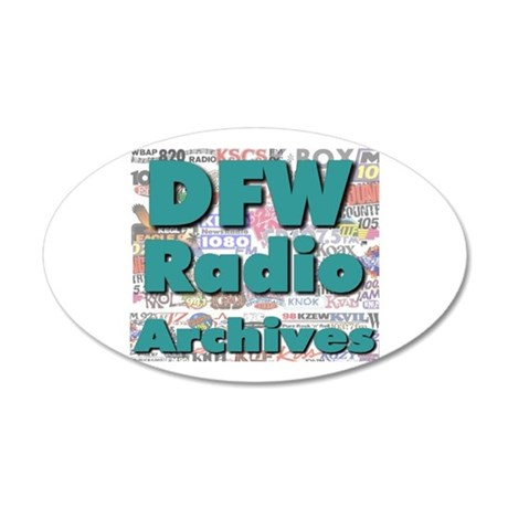 DFW Radio Archives - Square Logo 20x12 Oval Wall D