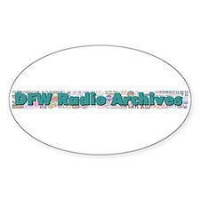 DFW Radio Archives - Bar Logo Decal