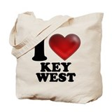 I Heart Key West Tote Bag