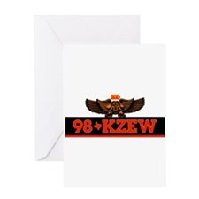 KZEW The Zoo (1983) Greeting Card