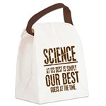 Science at Its Best Canvas Lunch Bag