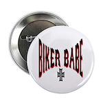 Biker Babe Button