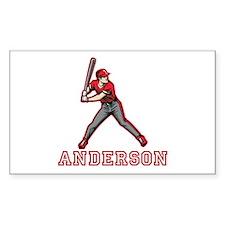 Personalized Baseball Decal