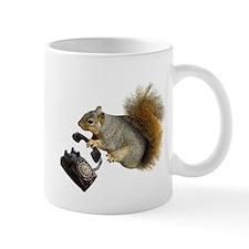 Squirrel Rotary Phone Mug