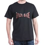 Biker Babe Black T-Shirt