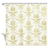Vintage Damask Shower Curtain