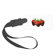 Chocolate Strawberry Luggage Tag